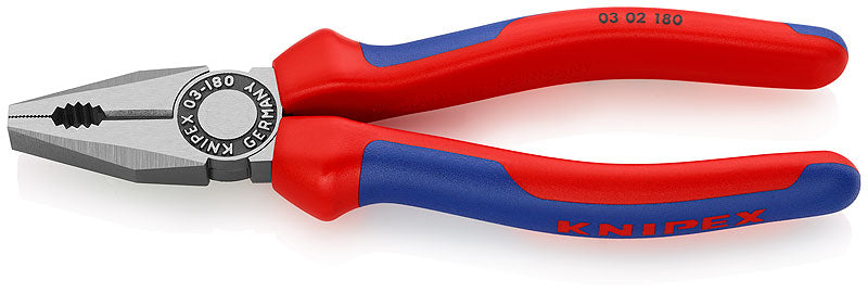 KNIPEX KNIPEX Combination Pliers 180mm - 03 02 180 - BNR Industrial