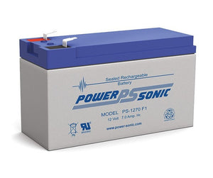 Power Sonic 12V 7Amp SLA Battery - BNR Industrial