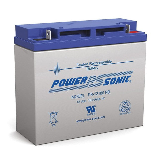Power Sonic Power Sonic 12V 18Amp SLA Battery - BNR Industrial