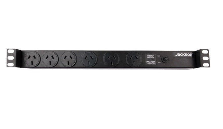 "Jackson Jackson 19"" RACK MOUNT 6WAY POWER - BNR Industrial"