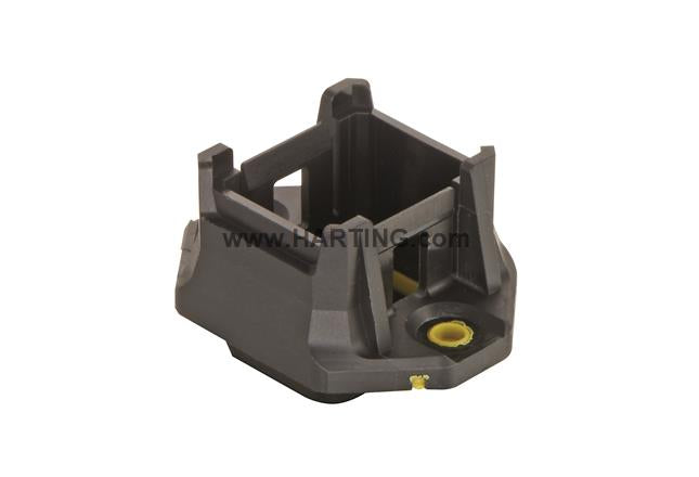 HARTING HARTING Han® 1A Bulkhead Mounted Housing - Straight or Angled - BNR Industrial