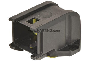HARTING Han® 1A Bulkhead Mounted Housing - Straight or Angled