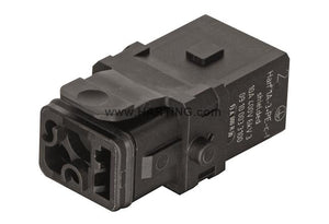 HARTING Han® 1A Insert 3+PE Shielded Crimp