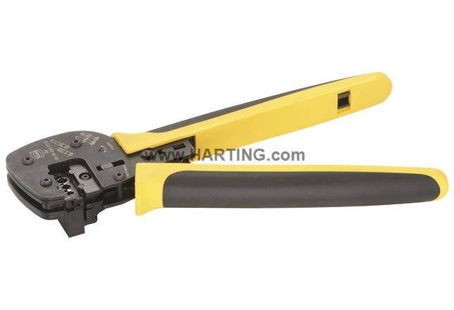 HARTING Han Ratchet Crimp Tool with Locator 09990000377 - Han C®: 4-10mm²