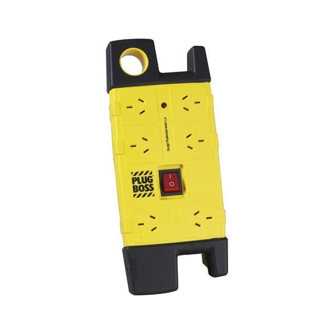 HPM HPM 6 Way Plug Boss Heavy Duty Powerboard - BNR Industrial
