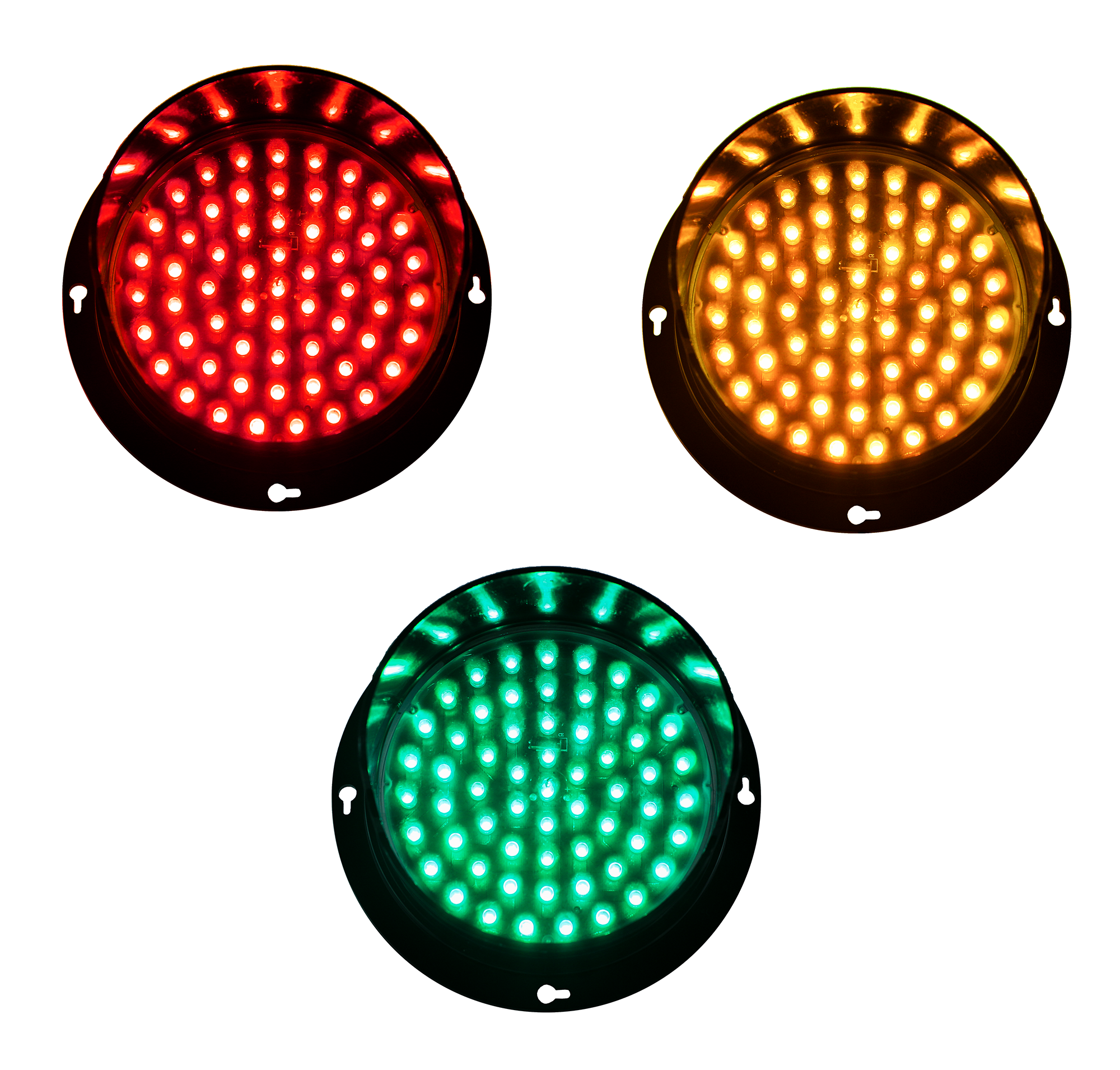 BNR BNR 125mm Surface Mount IP65 LED Pixel Cluster Signal Lights - BNR Industrial