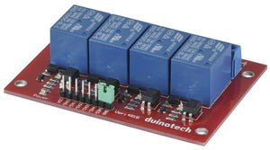Arduino Compatible 4 Channel 12V Relay Module - BNR Industrial
