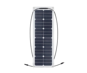 30W 12V Semi Flexible Solar Panel - BNR Industrial