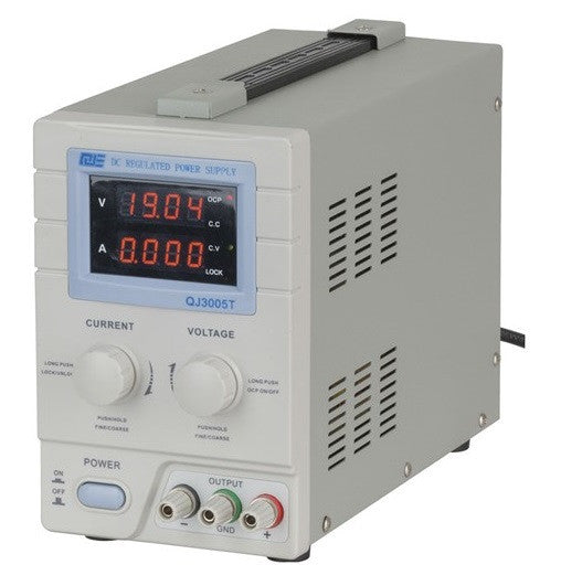 Powertech Powertech 0-30VDC 5A Regulated Power supply - BNR Industrial