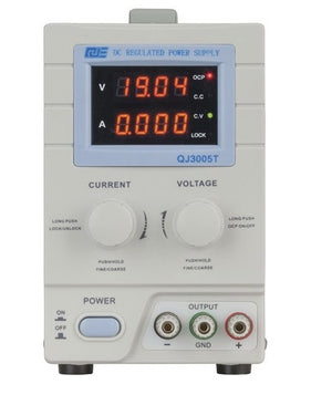Powertech 0-30VDC 5A Regulated Power supply - BNR Industrial