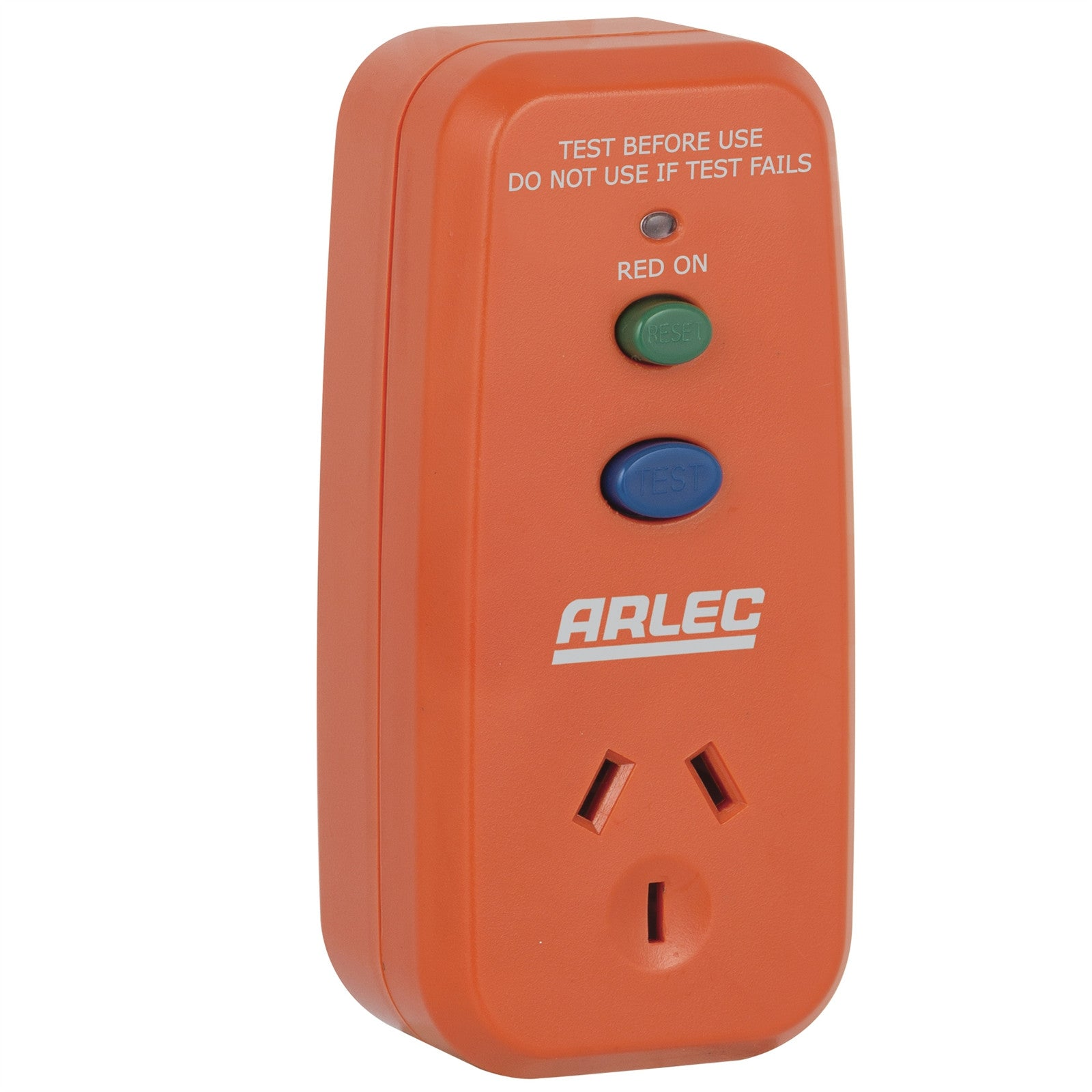 Arlec ARLEC Single Outlet Safety Switch - PB91 - BNR Industrial
