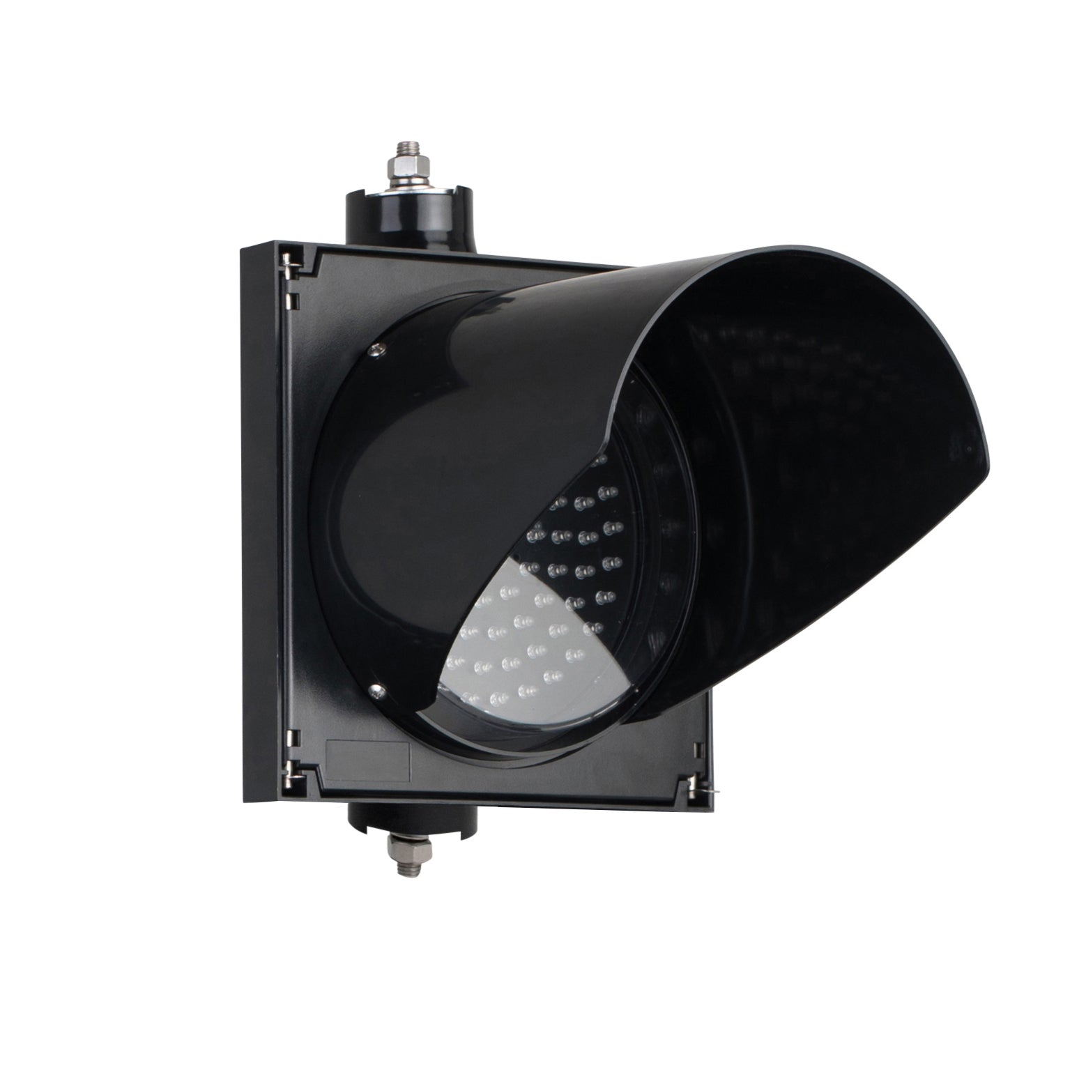 BNR BNR Single Aspect 200mm Lane Control LED Traffic Light IP55 12-24VDC or 85-265VAC - Red X and Green Arrow Combination - BNR Industrial