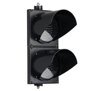 BNR 2 Aspect 200mm Pedestrian LED Traffic Lights 12-24VDC or 85-265VAC - Red Man & Green Walking Man