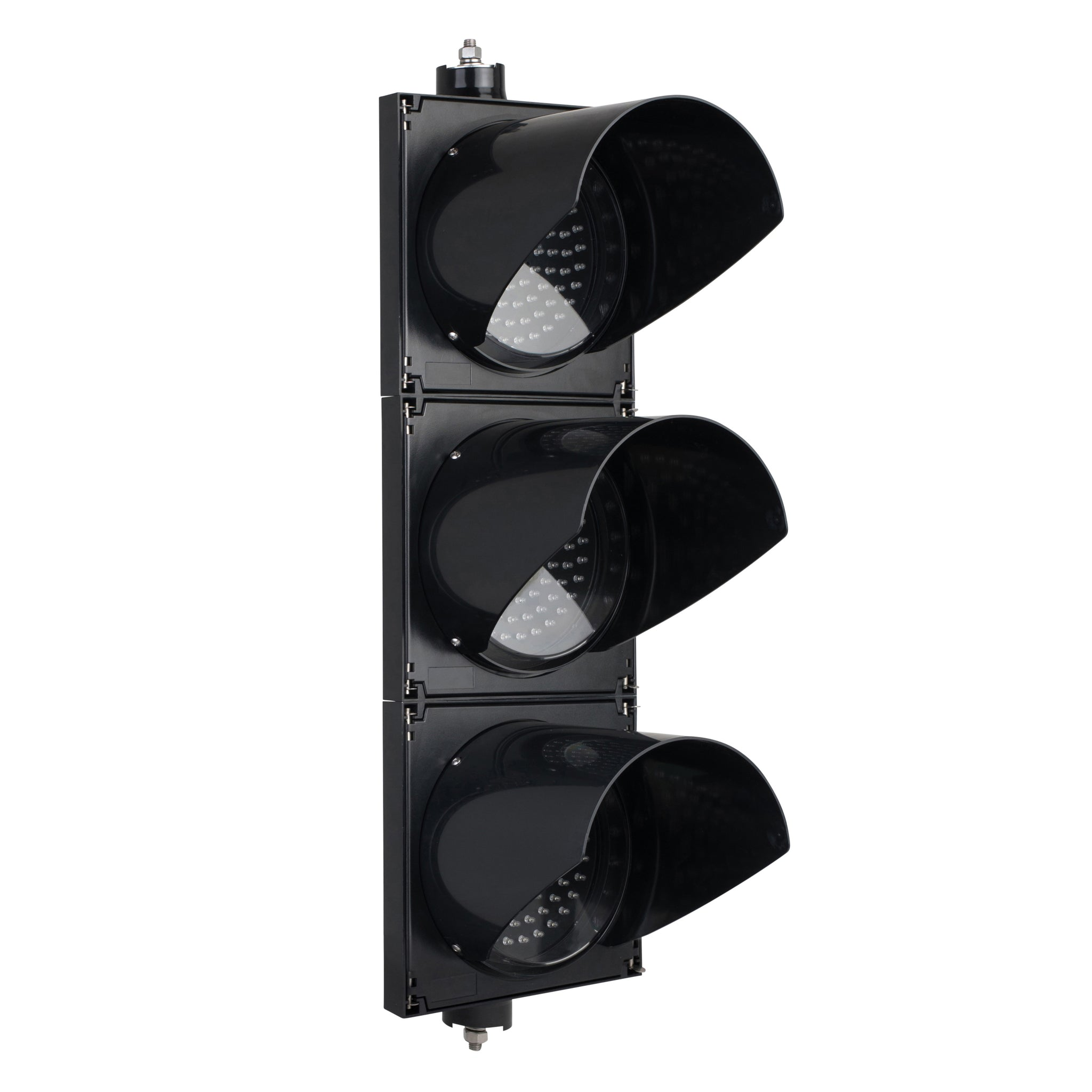 BNR 3 Aspect 200mm LED Traffic Lights 12-24VDC or 85-265VAC - Arrows and Colours