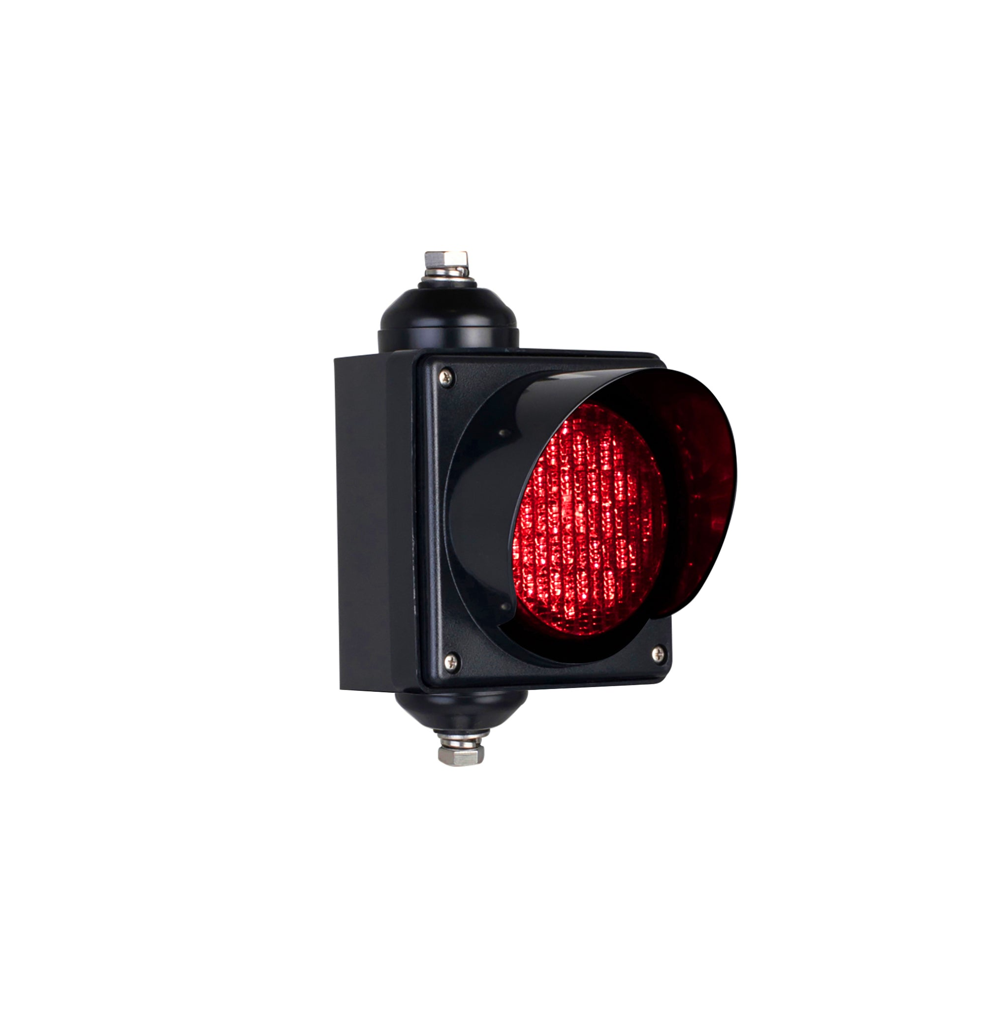 BNR BNR Single Aspect 100mm LED Traffic Lights 12-24VDC or 85-265VAC - Colours with Flasher Module Option - BNR Industrial