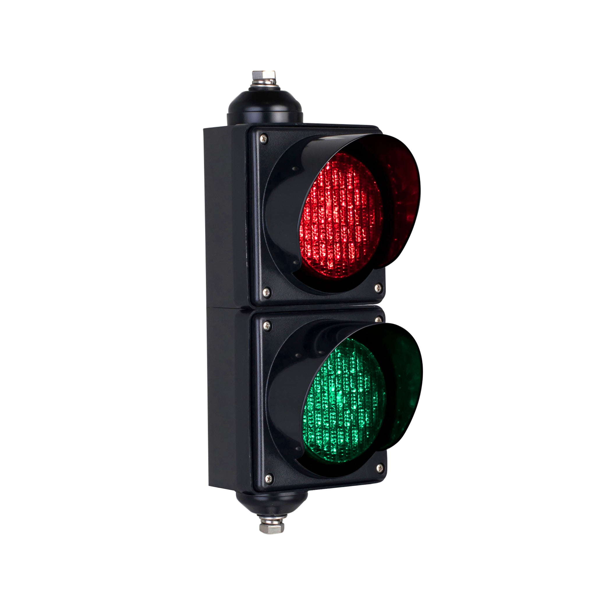 BNR BNR 2 Aspect 100mm LED Traffic Lights 12-24VDC or 85-265VAC - BNR Industrial