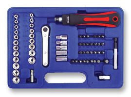 DURATOOL 60pc Socket and Bit Set - BNR Industrial