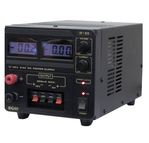 DOSS 2.5A 0-30VDC Bench Top Power Supply - BNR Industrial