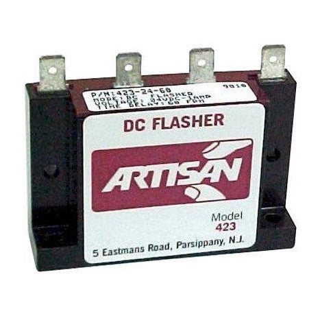 Artisan Controls Solid State DC Flasher for 12-24VDC Traffic lights - BNR Industrial