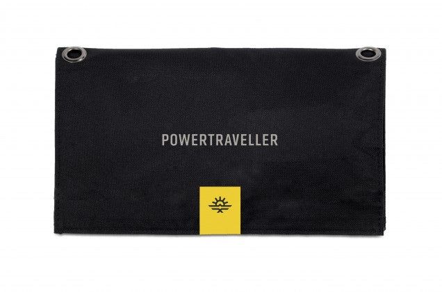 POWERTRAVELLER POWERTRAVELLER FALCON 21 Foldable Multi-Voltage Solar Panel - BNR Industrial