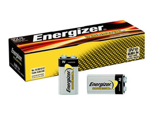 Energizer Industrial 9V Battery Alkaline - 12 Pack - BNR Industrial