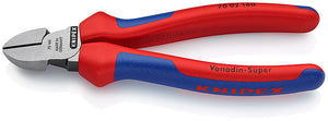 KNIPEX Diagonal Type Wire Cutters, 160mm Overall Length - 74 02 160