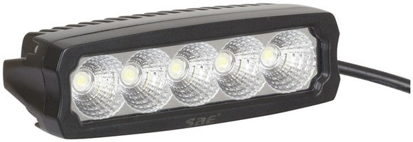 Techlight 2250 Lumen Single Row LED Worklight - Flood Beam - BNR Industrial