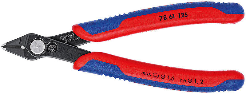 KNIPEX KNIPEX Precision Electronic Super Knips® Side Cutters -  78 61 125 - BNR Industrial
