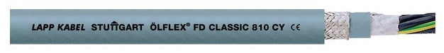 LAPP KABEL ÖLFLEX® CLASSIC FD 810 CY Highly Flexical EMC Compliant Drag Chain Cable - BNR Industrial