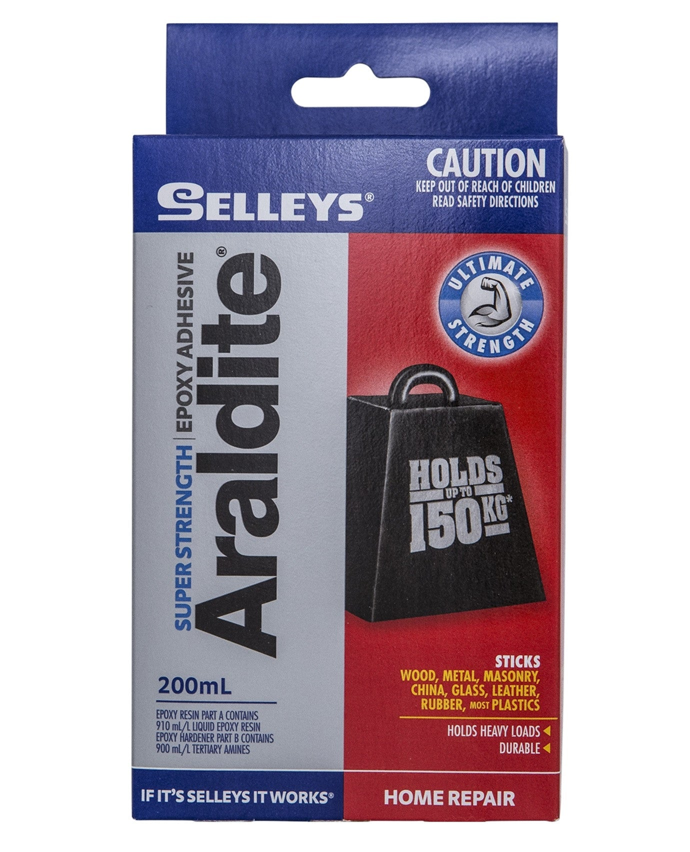 Selleys Selleys Araldite Super Strength Epoxy Adhesive 200ml - BNR Industrial