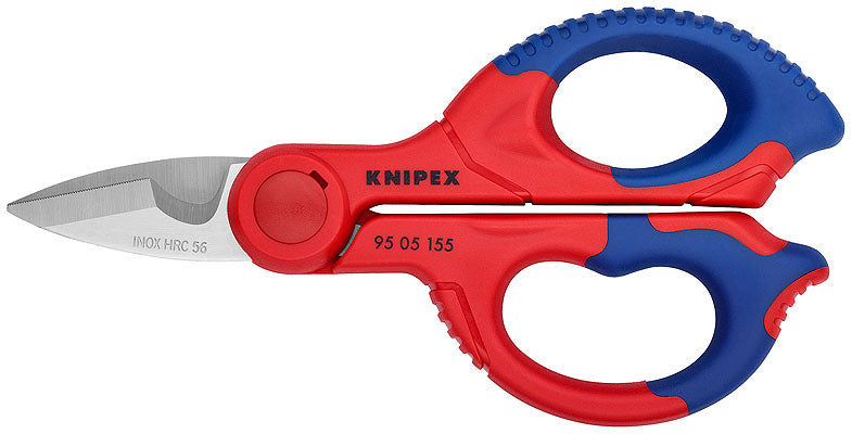 KNIPEX Knipex 155mm Electricians Shears - 95 05 155 SB - BNR Industrial