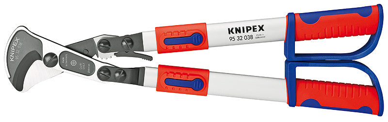 KNIPEX Cable Shears Ratchet Action with telescopic handles - 95 32 038