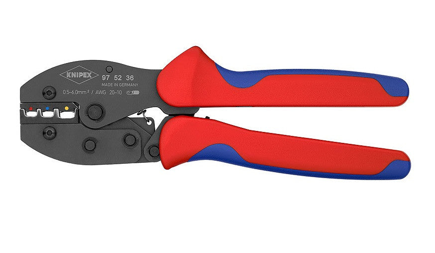 KNIPEX KNIPEX PreciForce® Insulated Terminals, Plug Connectors + Butt Connectors - 97 52 30 - BNR Industrial