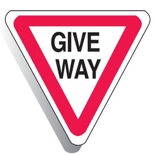 Regulatory Give Way Sign - BNR Industrial