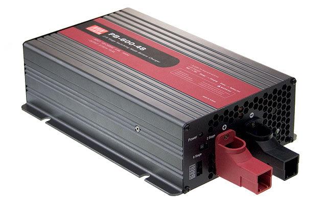 Mean Well MEAN WELL PB-600 Series 600W Intelligent Single Output Battery Charger - BNR Industrial