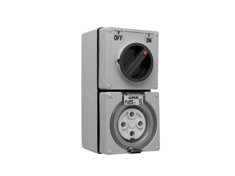 CLIPSAL 56C440 4P 40A Switch Socket Outlets - BNR Industrial