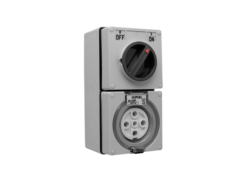 CLIPSAL 56C540 5P 40A Switch Socket Outlets - BNR Industrial