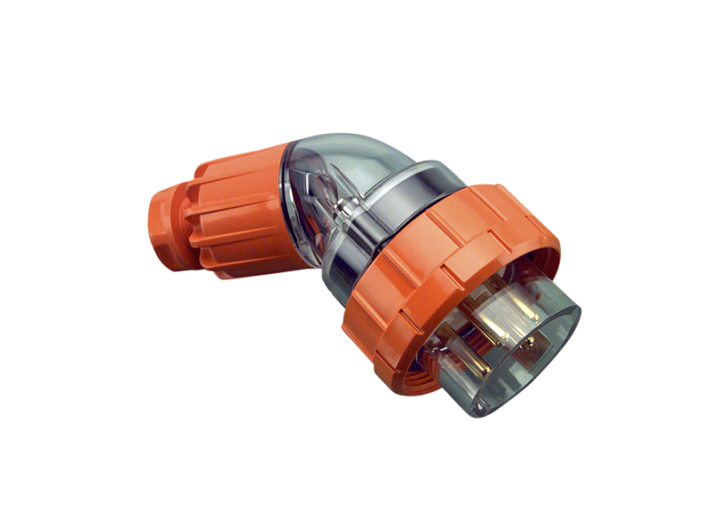 Clipsal CLIPSAL 56PA450 Angled Plug Top 50A 4 Round Pin - BNR Industrial