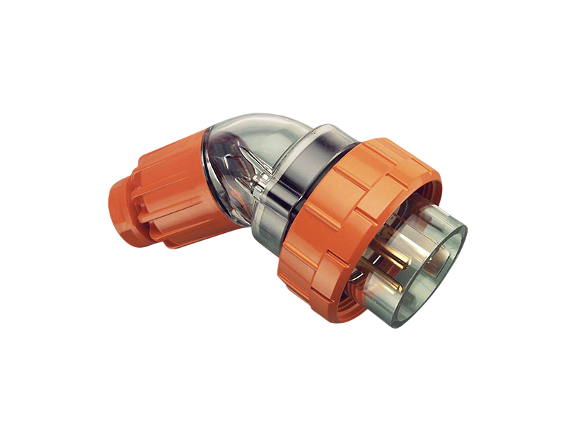 CLIPSAL 56PA332 Angled Plug Top 32A 3 Round Pin - BNR Industrial