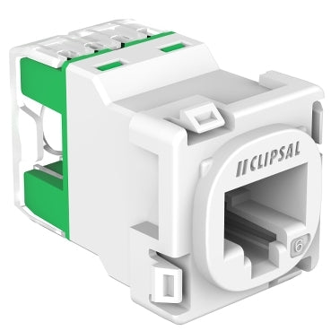 Clipsal Clipsal CAT6 UTP RJ45 Modular Socket 30RJ45SMA6C - New 2019 Model - BNR Industrial