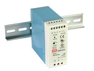 MEAN WELL MDR-60 DIN Rail PSU