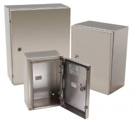ETA STX Series 316 Grade Stainless Steel Single Door Enclosures - 200mm wide - BNR Industrial