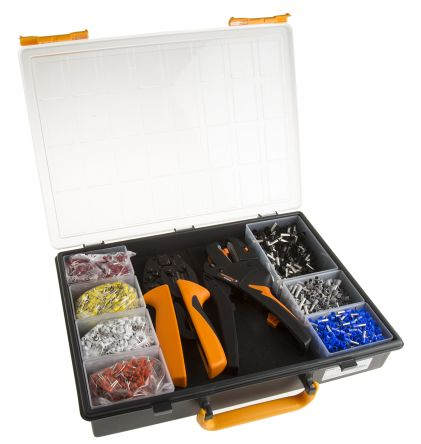 Weidmuller Crimp Set with PZ 6 Roto Crimper and Stripax Wire Stripper - 9028700000