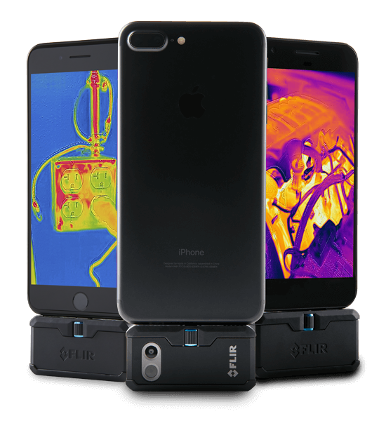 FLIR FLIR ONE Pro Thermal Imaging Camera for iOS or Android - BNR Industrial