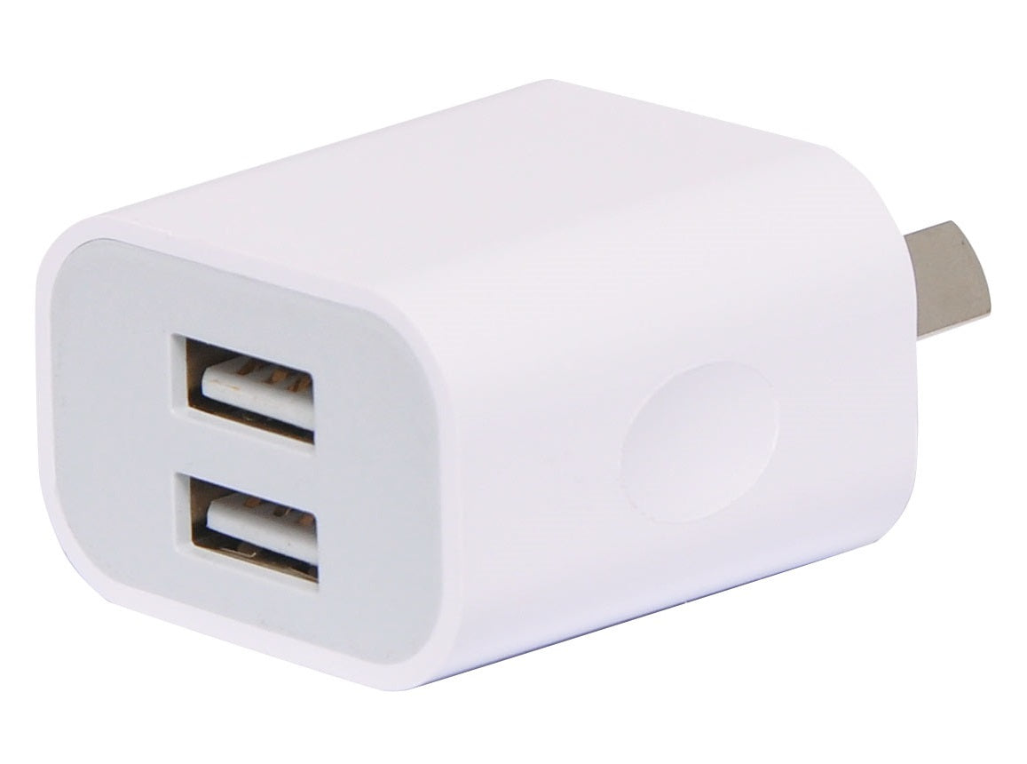 Powertran Powertran 2 Output Intelligent 2.4A USB Charger - BNR Industrial