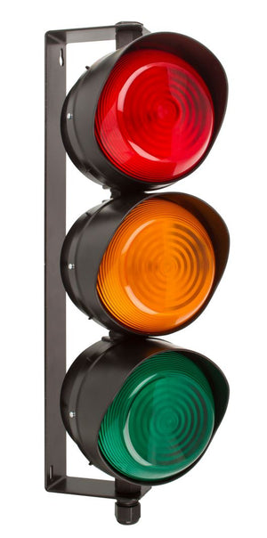 MOFLASH 3 Aspect 108mm LED Traffic Light - BNR Industrial