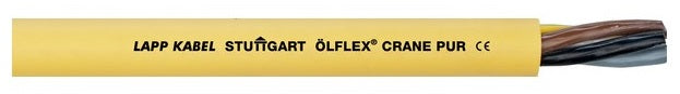 LAPP KABEL ÖLFLEX® Crane PUR Cable, Oil, thermal and mechanical resistant, Halogen-free, Flame-retardant - BNR Industrial