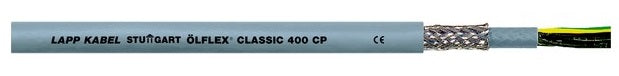 LAPP KABEL ÖLFLEX® CLASSIC 400 CP, Shielded Durable PUR Control Cable, Oil and Abrasion Resistant - BNR Industrial