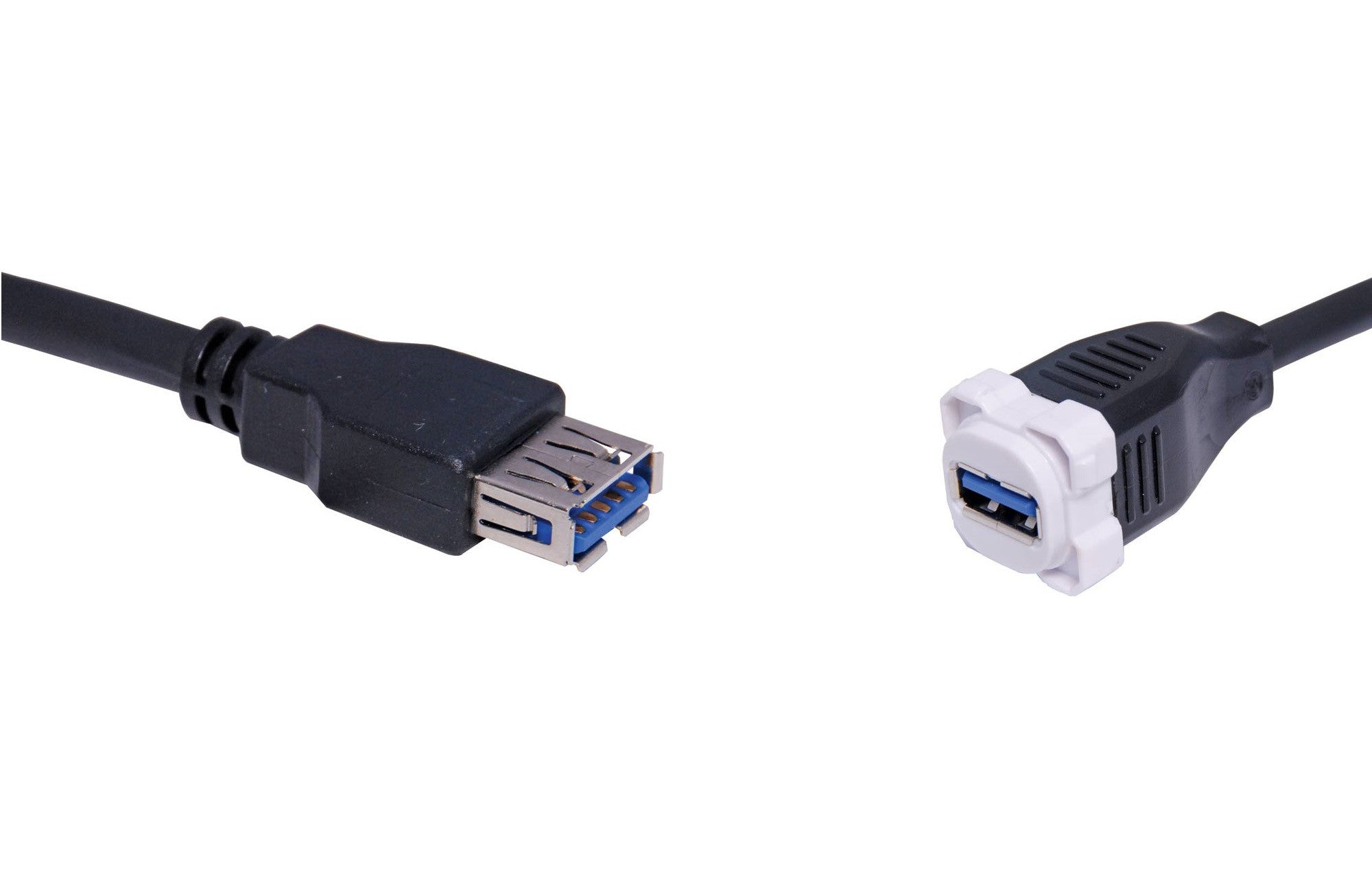 BNR USB 3.0 Clipsal Style Clip-In Mechanism with Lead - BNR Industrial
