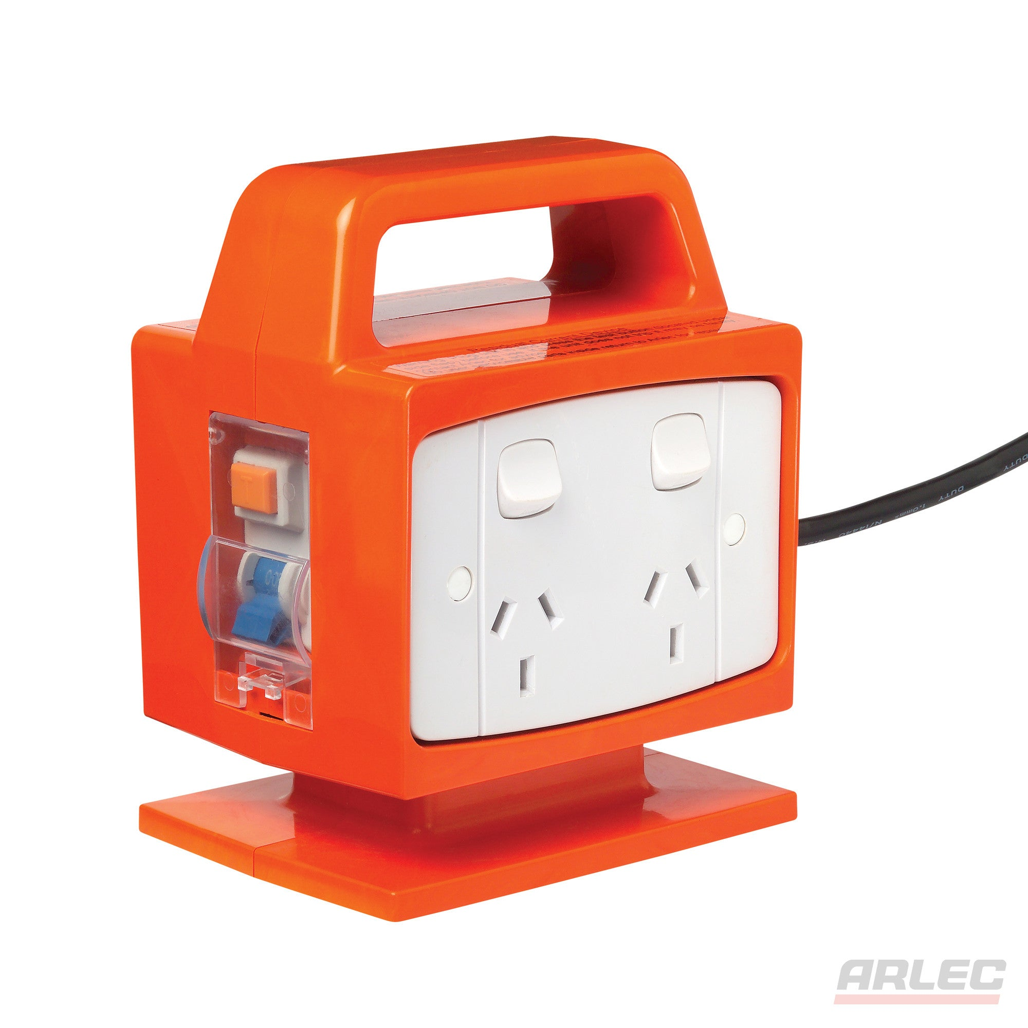 Arlec ARLEC Portable Power Block-Safety Switch 4 Outlet - PB94 - BNR Industrial